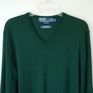 Polo by Ralph Lauren Sweaters - POLO BY RALPH LAUREN Merino Wool Sweater- Large